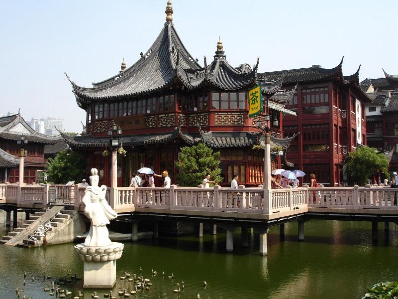 Gamla stan i Shanghai